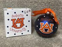 "Coton Colors Auburn University ""War Eagle"" Christmas Ornament NIB"