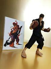 Street Fighter Evil Ryu Rotocast Action Figure Sota Hot ToyNEW Capcom medicom