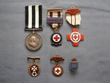 More details for british red cross and st john ambulance medals ww1 / ww2 period.