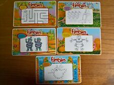 Kinnerton confectionery trade cards: Fimbles activity cards full set