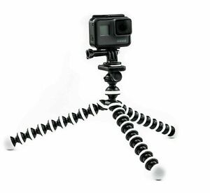 Octopus Flexible Tripod Mount Stand for Go-Pro Hero 7 6 5 4 3 Action camera Top