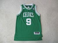 Adidas Rajon Rondo Boston Celtics Basketball Jersey Youth Medium Green Kids Boys