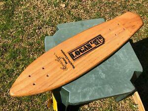 "NOS 29"" BRUCE LOGAN EARTH SKI DECK 70'S Vintage Skateboard SIMS,G&S, BAHNE"