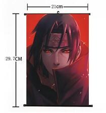 "Hot Japan Anime Uchiha Itachi NARUTO Poster Wall Scroll Home Decor 8""×12"" 001"