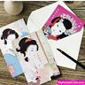 Japanese Geisha Maiko Mini Postcards Set ~ Greeting Card Snail Mail Scrapbook