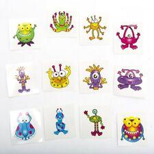 Paquete De 72 Tatuajes Adhesivos Temporales Para Niños De Monstruos Pegatinas