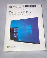 Microsoft Window 10 Professional 32/64 Bit Full Retail Version