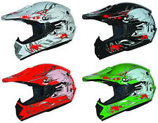 Kinder Motorradhelm Quadhelm Kinder Cross Enduro BMX Pocket Bike Helm