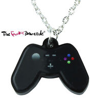 TFB - GAMES CONTROLLER NECKLACE Funky Quirky Novelty Gamer Addict Kitsch Gift