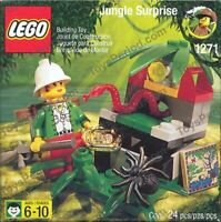 Rare Lego set 1271 Jungle Surprise from 1999 excellent pre-owned !00% COMPLETE