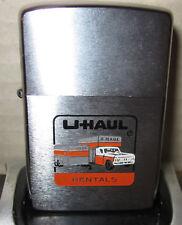 Vintage RARE NEW 1978 U-HAUL Zippo Lighter NEW MINT
