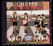 CHEMA Y LOS SALTAMONTES - SPAIN CD Horus 1995 - 11 Tracks - Como Nuevo / NM