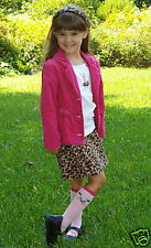 Gymporee Lot Teacher's Pet Leopard Sz 5 Pink Blazer Skirt Pants Huge 12 Piece