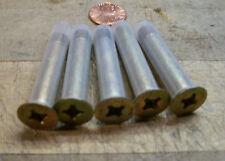 8 Aircraft shear bolts NAS1205-23 5/16-24 x 1 3/4 machine head large phillips