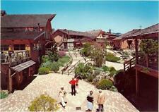 Carmel California The Barnyard Shopping Center Restaurants Retro 1970's Postcard