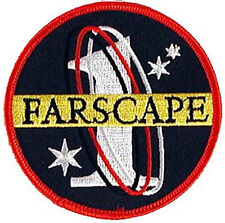 "Farscape Tv Series Farscape 1 Logo Embroidered 3.5"" Patch-Usa Mailed(Fspa-001)"