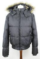 SCHOTT NYC Black Parka Jacket size XL