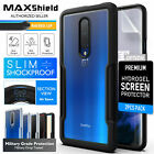For OnePlus 7 Pro Case Genuine Maxshield Clear Heavy Duty Shockproof Slim Cover