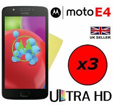 3x HQ Ultra Clear HD Screen Protector Cover Guards for Motorola Moto E4 Plus E4