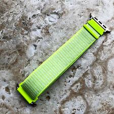 Flash Light Sport Hook & Loop Nylon Band for 38 40 42 44mm Apple Watch 5 4 3 2 1