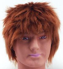 80s Chisel Ginger Wig Fancy Dress