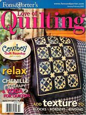 Fons & Porter's Love of Quilting Magazine January/February 2005