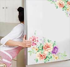 Huge Luxury Peony Flowers Wall Stickers Art Mural Wallpaper Decor Living Room LH