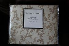 Laura Ashley Victoria Taupe Queen Sheet Set