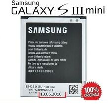 BATERIA   PARA SAMSUNG GALAXY S3 MINI SIII  GT-8190 ORIGINAL EB425161LU 1500MAH