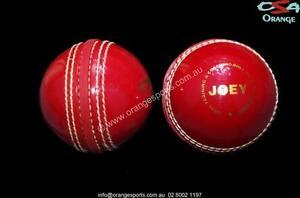6 x JOEY PLASTIC TRAINING Cricket Balls by ORANGE SPORTS + AU STOCK