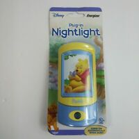 Disney Energizer Winnie The Pooh Nightlight With Daylight Sensor