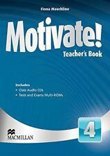 Very Good, Motivate! Teacher's Book Pack Level 4, Fiona Mauchline, Book