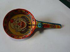 Vintage US Metal Toy Mfg. Co.  Noise Maker Clown theme USA