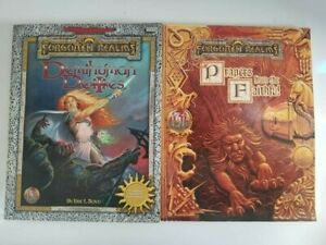 AD&D Forgotten Realms Prayers From the Faithful + Demihuman Deities TSR 2 books