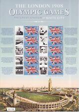 Gb 2008 - 100th Anniversary Of 1908 Olympics - Commemorative Smilers : Css-002