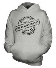 MADE IN THE BLACK COUNTRY UNISEX KIDS HOODIE BOYS GIRLS CHILDREN GIFT CHRISTMAS