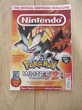 Official Nintendo Magazine Issue 87 Nov 2012 Pokemon White 2 Version Cover