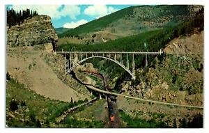 Redcliff Bridge between Leadville and Minturn, CO Postcard *6V(2)16