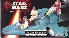 1998 STAR WARS FLASH SPEEDER w/Launching Laser Cannon NIB - New & Sealed
