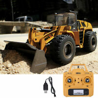 1/14 HUINA 583 2.4G RC Electric Remote Control Model Bulldozer Engineering Car