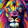 "DIY Digital Oil Painting Canvas Decor Scenery 16X20"" Animal Paint By Number Kit"