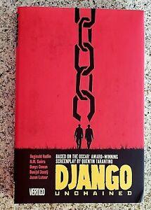 Vertigo: Django Unchained  (2013, Hardcover/Graphic Novel)  BRAND NEW SEALED
