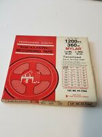Vintage Realistic Recording Tape - 7 in Reel - 1200 ft Mylar 1.5mil - 44-736A