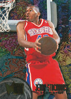 Jerry Stackhouse 1995-96 Fleer Metal  Rookie Roll Call #R-8 Sixers RC Rookie