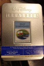 DISNEY TREASURES: SILLY SYMPHONIES OOP RARE DELETED TIN DVD CARTOON ANIMATION