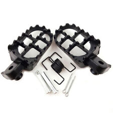 2PCS Motorcycle Foot Pegs Footrest 8mm Bolt for Honda CRF XR Yamaha PW 50/80