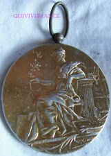 MED6684 - MEDAILLE CONCOURS INTERNATIONAL DE MUSIQUE LYON 1894 par RIVET Argent