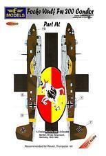 LF Models Decals 1/72 FOCKE WULF Fw-200C-3 CONDOR Wessendorf 1943-1944
