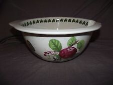 """Portmeirion Pomona 11"""" Mixing/Batter/Gripstand Bowl - Tip and Pour"""