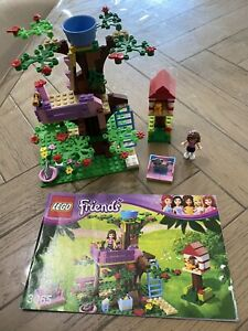 Lego Friends 3065 RETIRED Olivia's Tree House! Rare! Ex Cond Complete!
